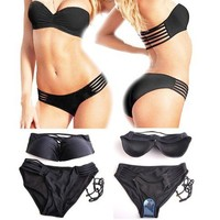 Strapless Black Bikini from Trend Shop