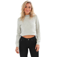 Chic Lace Up Sweatshirt Women Tops V neck Ladies Sweatshirt Warm Hoodies Gray Crop Top Long Sleeve Girls Grey/Pink Shirt