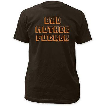 PULP FICTION BAD MOTHER F***ER MENS FITTED JERSEY TEE