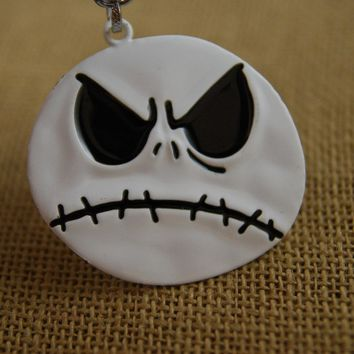 1pc Movie Series Pendant The Nightmare Before Christmas Jack Two Faced Figure Toy With Key Chains KeyRing Great Gift