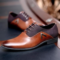 Gentleman Oxford Mens Leather Shoes
