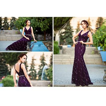 Prom Dresses Sequined