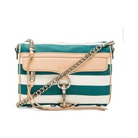 Rebecca Minkoff Mini MAC in Teal