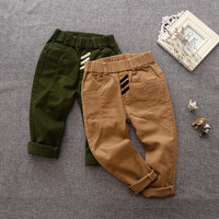 New Baby Boys Pants Children Cotton Kids Casual long Cargo Pants Spring Autumn Boys Trousers kdis ruffle leggings