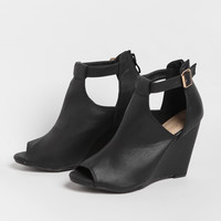 Anabella Cutout Wedges
