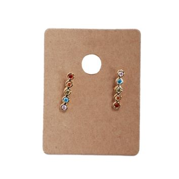 Dylan Skye Rainbow Bar Earring