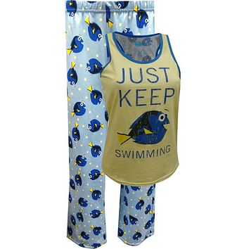 Finding Dory Capri and Tank Pajamas Just Keep Swimming