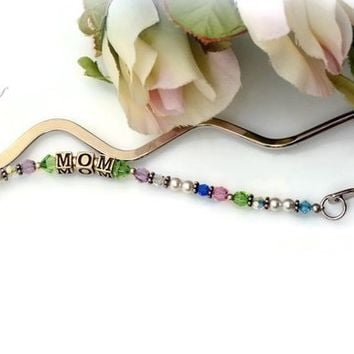 Personalized Bookmark, Personalized Gift, Unique Bookmark, Mothers Day Gift, Custom Bookmarks, Gifts For Her, Fathers Day Gift | KyKy's Bridal, Handmade Bridal Jewelry, Wedding Jewelry