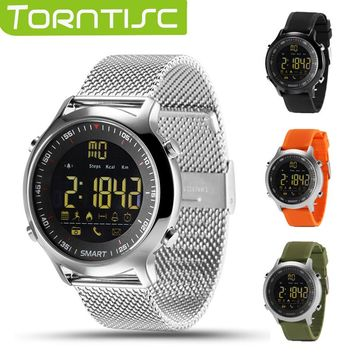 Torntisc IP67 Waterproof EX18 Smart Watch Support Call and SMS alert Pedometer Sports Activities Tracker Wristwatch Smartwatch