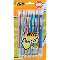 BIC® Mechanical Pencils with Assorted Colorful Barrels, .5mm, 24/Pack