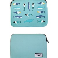 Mermaid Neoprene Ipad Mini Sleeve