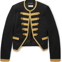 Saint Laurent - Wool-Gabardine Military Jacket | MR PORTER