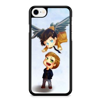 Supernatural Destiel Fanart iPhone 8 Case