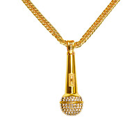 Gift Jewelry New Arrival Stylish Shiny Alloy Hip-hop Pendant Necklace [10210220419]