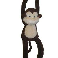 Lambs & Ivy Papagayo Plush Monkey, Brown