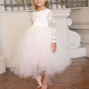 Flower girl-infant-Tutu Dress-Flowergirl-Bridal-photography-bridal-Emilia