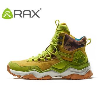 RAX 2017 Waterproof Hiking Shoes For Women Winter Hiking Boots Outdoor Boots Climbing Walking Mountaineering Trekking Shoes