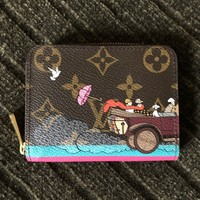 Louis Vuitton Illustre Evasion Zippy Coin Purse