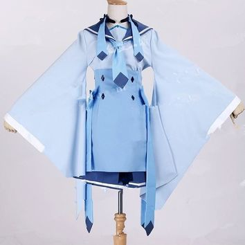 New Arrivel Pokemon Glaceon Kimono Commission Cosplay Costume custum made any size