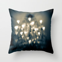 amour brûlant Throw Pillow by Ann B.