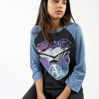 AEROSMITH RAGLAN - Tops - Womens