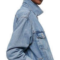 Topshop Oversize Denim Jacket (Regular & Petite) | Nordstrom