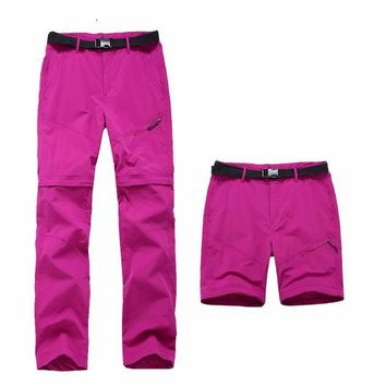 Quick Dry Removable Sport Pants