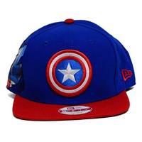 Hero Sider Mens Super Hero Snapback Hat (One Size, Captain America)