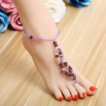 Beach Barefoot Sandals Bohemian Anklets