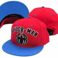 Spider-Man Baseball Hat - Logo