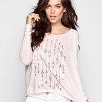 Billabong The Way It Is Womens Tee Light Pink  In Sizes