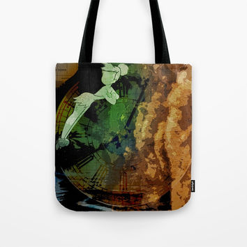 Tinker Clock Tote Bag by Sabrina