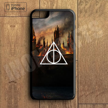 Harry Potter and  deathly hallow Plastic Phone Case For iPhone 6 Plus More Style For iPhone 6/5/5s/5c/4/4s iPhone X 8 8 Plus