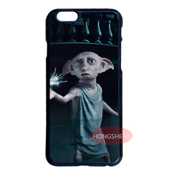 Dobby Harry Potter Cover Case for LG iPhone 4 4S 5 5S 5C 6 6S 7 Plus iPod 4 5 Samsung Note 2 3 4 5 S3 S4 S5 Mini S6 S7 Edge Plus