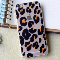 Hollow Out Leopard iPhone 5se 5s 6 6s Plus Case Cover + Nice Gift Box 364