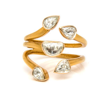 Polki Diamond ring