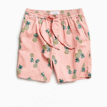 UO Max Printed Elastic Waist Short - Urban Outfitters
