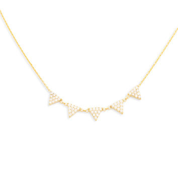 Reina Gold Necklace