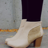 Like the Wind Bootie - Beige