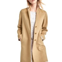 Wool-blend car coat | Gap