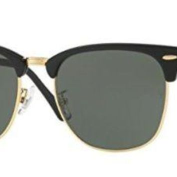 Ray-Ban 0RB3016F-W0365- EBONY/ORO 55mm mens