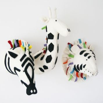 Fiona Walker England Safari Rock Zebra Wall Decor