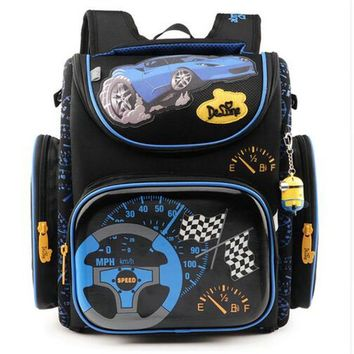 Delune High Quality School Bags for Boys Girls Children Backpacks Primary Student Backpacks Schoolbag Fashion Cute Kids Book Bag