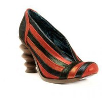 Irregular Choice | Womens | Heel | Beans On Toast (in red)
