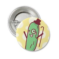 Fancy Pickle Button from Zazzle.com