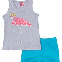 Cool Icon Tank Top and Shorts