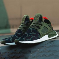 Adidas NMD XR1 Duck Camo Women Men Running Sport Casual Shoes Sneakers Camouflage Green G