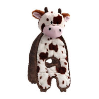 Cuddle Tugs Cozy Cow Dog Toy