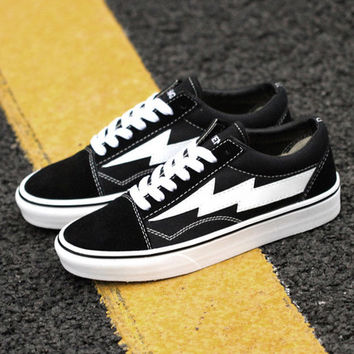 Trendsetter Revenge x Storm x Vans Kanye West Old Skool Canvas Flat Sneakers Sport Shoes