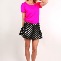 Polka Dot Perfection Skort